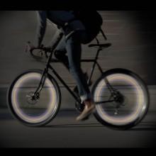 LED-lys til cykelhjul