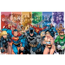 JUSTICE LEAGUE AMERICA (GENERATIONS) POSTER