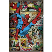 MARVEL COMICS (SPIDERMAN RETRO) POSTER