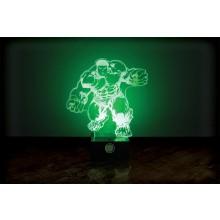 Marvel Hulken Lampa