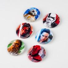 Star Wars The Last Jedi Badges