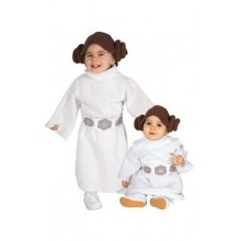 Prinsessan Leia Maskerad Bebis