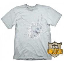 DOTA 2 Puck T-shirt + Digital Unlock