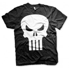 THE PUNISHER SKULL T-SHIRT (SORT)