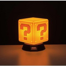 Super Mario Question Block 3D-lampe