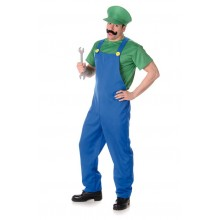 Rörmokare grön Luigi