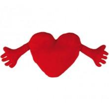 Hjerte Med Arme-Pude