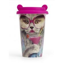 Rejsekrus Kat med store briller