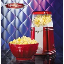 Retro Popcornmaskine Rød/Hvid