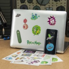 Rick And Morty Gadget Klistermærker