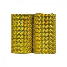 Serpentiner Holografiske Guld 2-pak