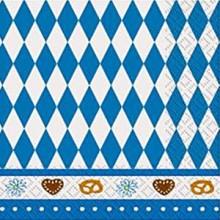 Servietter Oktoberfest 16-Pak