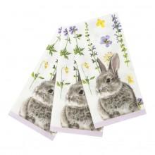 Servietter Truly Bunny 20-pakke