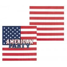 Servietter USA 12-pak