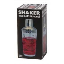 Shakerglas med Recept 350 ml