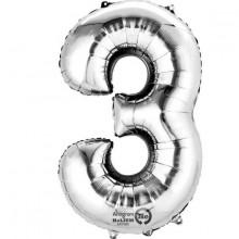 Nummer Ballon 3 SØLv