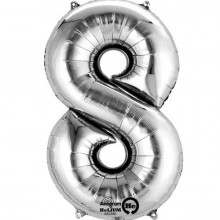 Nummer Ballon 8 SØLv