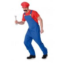 Rörmokare Mario Maskeraddräkt