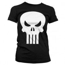 THE PUNISHER SKULL PIGE T-SHIRT (SORT)