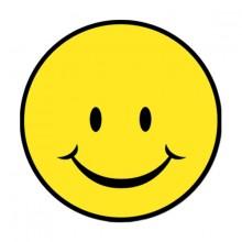 Glad Smiley Figur 33 Cm
