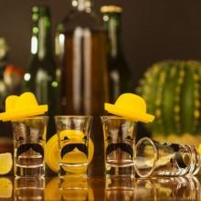 Shotglas Mexikansk Sombrero 4-pak