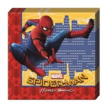 Spiderman Homecoming Servietter 20-pak