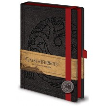 Game Of Thrones Notesbog Targaryen