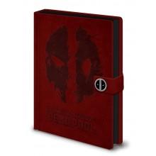Deadpool Notesbog Splat