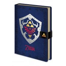 Zelda Hylian Shield Premium Notesbog