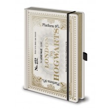 Harry Potter Notesbog Hogwarts Express Billet