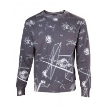 Star Wars Tie-Fighter All Over Sweatshirt
