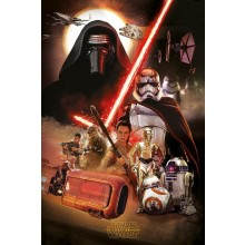 Star Wars The Force Awakens Jakku Plakat