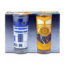 Star Wars Glas C-3Po Og R2-D2