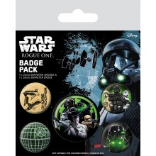 Star Wars Rogue One Badges 5-pak The Empire