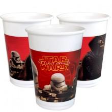 Plasticglas Star Wars 8-pak
