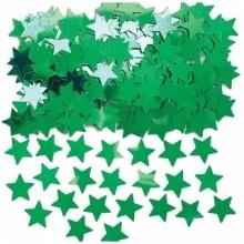 Konfetti Stjerner GrØNne