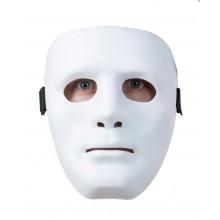 Statuemaske Hvid