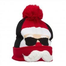 Strikket hue  Cool Santa