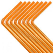 Sugerør Orange 50-pak