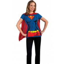 SUPERGIRL T-SHIRT KOSTUME