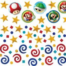 Konfetti Super Mario