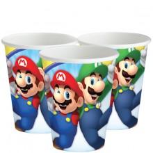 Papbæger Super Mario 8-pak