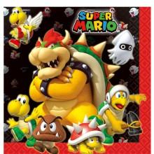 Servietter Super Mario 16-pak