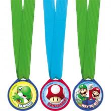 Super Mario Medaljer 12-Pak
