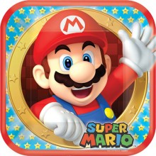 Tallerkner Deluxe Super Mario 8-Pak