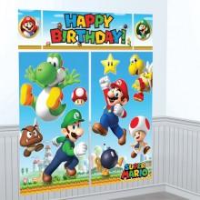 VÆGdekoration Deluxe Super Mario