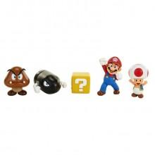 Nintendo Super Mario Figurer 5-pak