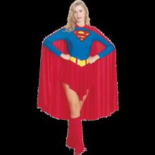 DC SUPERGIRL VOKSENKOSTUME