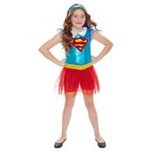 Supergirl Børnekostume