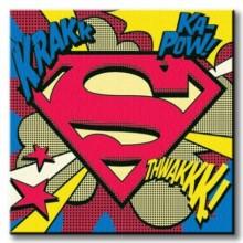Ip - Superman (Pop Art Shield) 40 X 40
